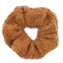 Scrunchie Teddy Brown